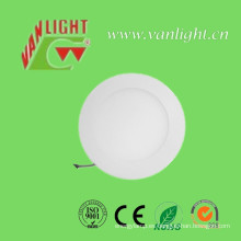 12W ronda luz de Panel LED de techo Slim