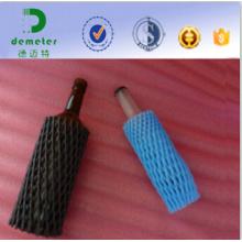 20 cm Preto Austrália Loja Duty-Free Use Bolha Net Wrap para Garrafa De Vinho Feito de Polietileno De Grau Alimentar