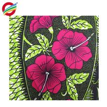 La cire africaine de 100% polyester imprime des conceptions tissées à vendre
