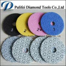 Water Grinder Grinding Polishing Tools Resin Polishing Pad for Stone