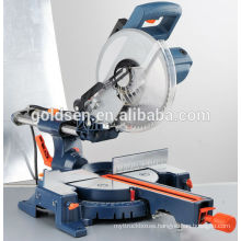 "GOLDENTOOL 255mm 10"" 1900W Aluminum Cutting Machine Industrial Slide Compound Miter Saw Electric Power Wood Cutting Saw"