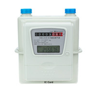 Caja de aluminio del hogar Tarjeta IC Prepaid Intelligent Gas Meter