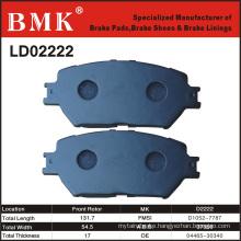 Adanced Quality Brake Pad (D2222)