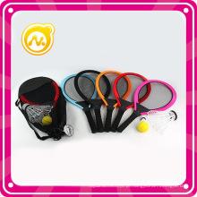 Plástico kids outdoor raquete de tênis conjunto de brinquedo