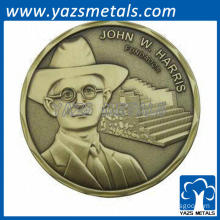 custom made coin challenge coin brass stamp coin