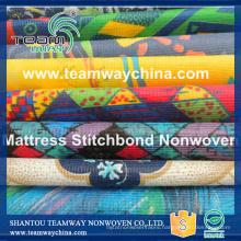 Printed Stitch bonded Nonwoven Fabric
