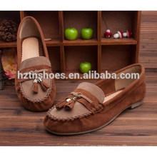 Sapatos de documentário plana feminina restaurando antigo na primavera de 2015 os sapatos das mulheres doce novo