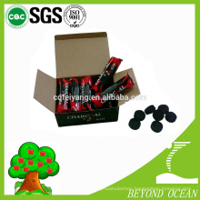 Smokeless apple flavour the charcoal tablet for incense