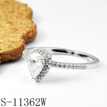 Anillo de bodas de la plata esterlina de la joyería 925 de la manera
