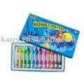 conjunto de crayones de baño