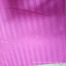 Tissu jacquard POLYESTER / tissu de microfibre de polyester de bonne qualité en Chine
