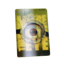 Custom Private Brand Logo Printing 3D Lenticular Clothing Hang Tag For Promotion