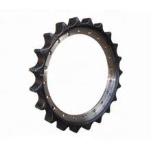 Fiat EX220LC-5 Roda dentada 1010203 Escavadeira JohnDeere AT311805 roda dentada dianteira polia