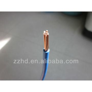 cable eléctrico de la cubierta del pvc thw / tw 14 12 10 8 6 calibre carrete de 100 pies