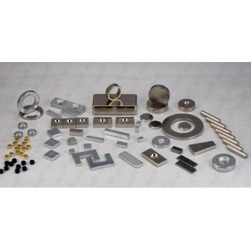 Hochleistungs-Seltenerd-Magnet für DC-Motor, Pumpe, Lautsprecher, Elektronik