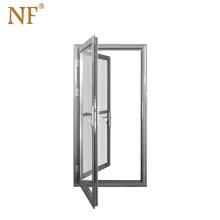 Aluminum arch exterior commercial glass swing door