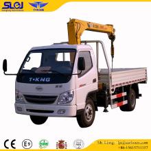 Slgj Tking 2t Grua telescópica montada em caminhão de carga 2t