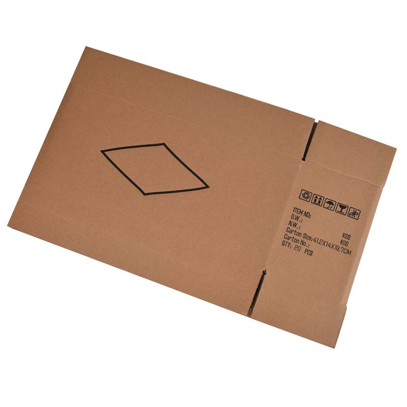 Five-layer logistics cartons