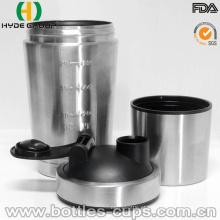 Frasco Shaker De Aço Inoxidável Popular Novo Material De Proteína (HDP-0598)
