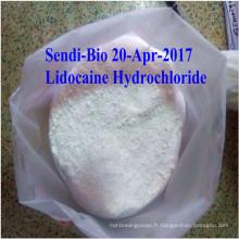Chlorhydrate de lidocaïne Bp / HCl pour injection intraveineuse CAS. N °: 73-78-9