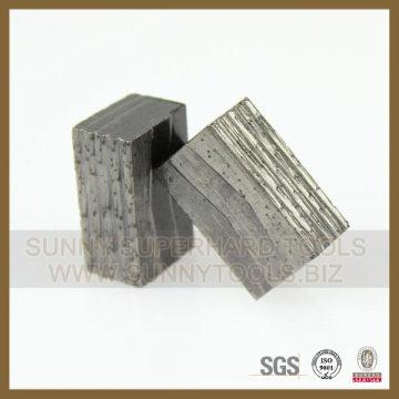 Segment de diamant pour le marché Inde rouge indien de pierre naturelle de granit