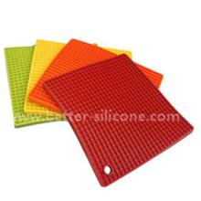 Heat Resistant Silicon Rubber Pot Pad