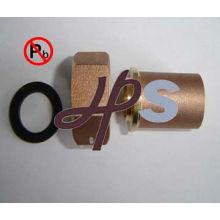 Кованые свинца счетчик воды хвост НФС-61 материальный стандарт