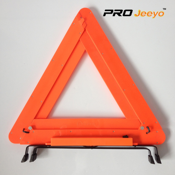 LED Flashing Light Warning Triangle DL-210 9