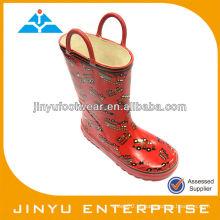 Garotas brilhantes botas goma