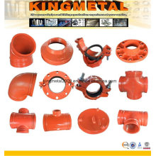 Firefighting Water System Grooved Pipe Accessories/Fittings FM UL Approved