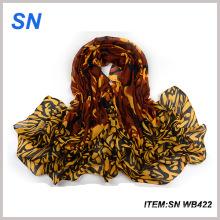 Material de impressão moda 2015 moda véu xale cachecóis