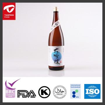 Vin de saké daiginjo japonais avec 1.8L, 750ML, 360ML / bouteille