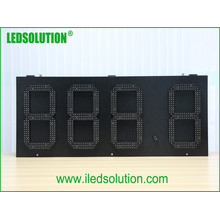 Display LED de preço de gás