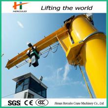 High Quality Rotary Luffing Slewing Jib Crane