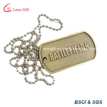 Bronze Color Metal Dog Tag for Military