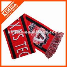 Китай оптовый трикотажный футбольный шарф
