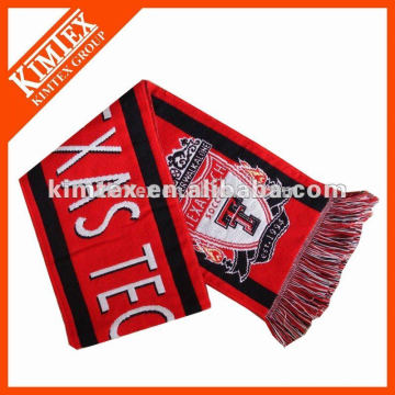 China wholesale knitted football scarf