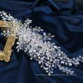 Neues Design Hochzeit handgemachte Rebe Schmuck Kristall Perle Brauthaarkamm