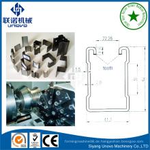 41 * 41 unistrut Ausrüstung Stahl U Kanal Rolle Formlinie