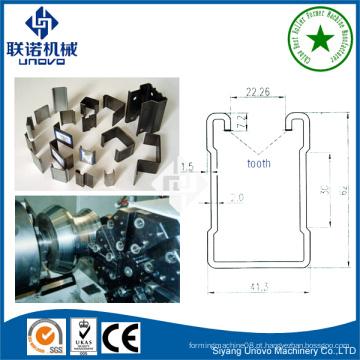 41 * 41 unistrut equipamento de aço U canal rolo formando linha
