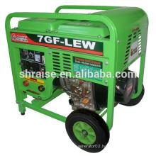 7GF-LEW electric Diesel Welding Generator set for sale