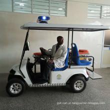 Carrinho de golfe de resgate para hospital