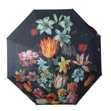 Promotional Cheap Sun Windproof Automatic Open 3 Fold Umbrellas