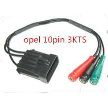 para Opel 10pin-Banana (OPEL 3KTS) el conectador del OBD