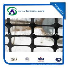 4'x100 'Schwarzer Plastik-Sicherheits-Schnee-Zaun