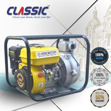 Pompe à eau à haute pression à chaud, pompe à eau haute pression portative avec CE, moteur à essence pompe à eau haute pression 1.5inch
