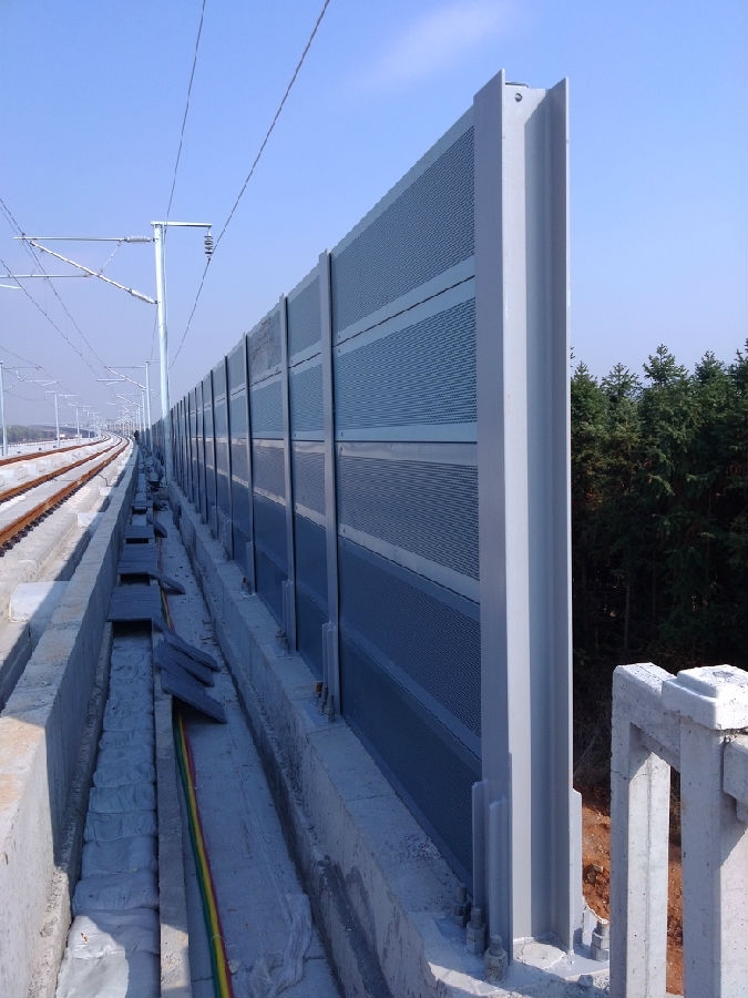Pvc Coated Sound Barrier Fence