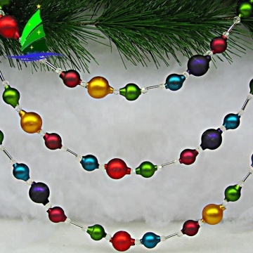 Ornamento da corda da corrente dos doces do Natal