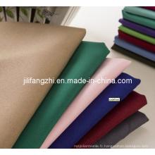 100% Polyester Mini Matt / Uniforme Tissu