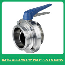 Sanitary Butterfly Valves Clamp end